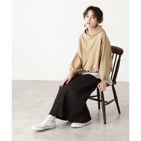 楊柳ナロースカート ブラック