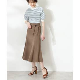 マーメイドフレアスカート《S Size Line》 モカ