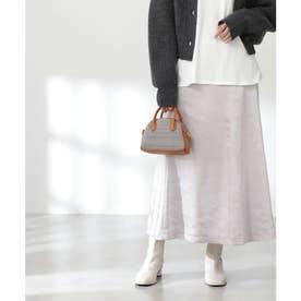 モッタリサテンマーメイドスカート《S Size Line》 グレー