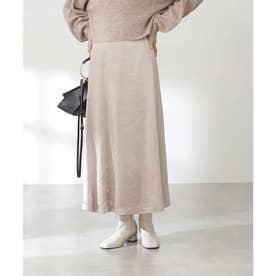 モッタリサテンマーメイドスカート《S Size Line》 ベージュ
