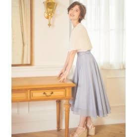 フィッシュテールカラースカート (ブルー)