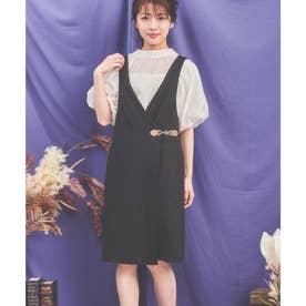ビットポイントジャンパースカート (ブラック)
