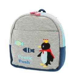 ノーブランド No Brand POETIC ポエティック 02764 リュックサック (ペンギン)