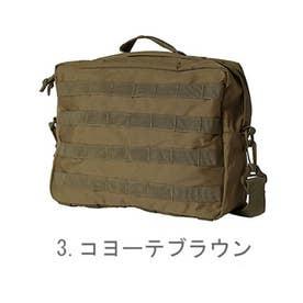 ノーブランド No Brand ミリタリー商品 USタイプ MOLLEショルダーバッグ #BS076YN (3.コヨーテブラウン)
