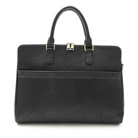 SYNTHETIC LEATHER BRIEFCASE (BLACK(スムース))