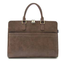 SYNTHETIC LEATHER BRIEFCASE (DARKBROWN(スムース))