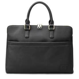 SYNTHETIC LEATHER BRIEFCASE (BLACK-A)