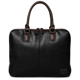 SYNTHETIC LEATHER BRIEFCASE (BLACK)