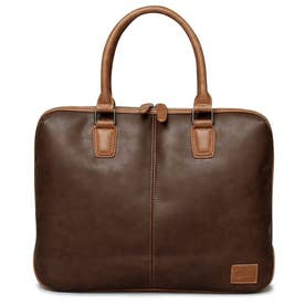 SYNTHETIC LEATHER BRIEFCASE (DARKBROWN)
