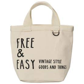 ノーブランド No Brand ネイティブハート ランチトートバッグ FREE & EASY ロング (764879.ナチュラル)