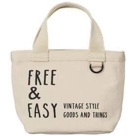 ノーブランド No Brand ネイティブハート ランチトートバッグ FREE & EASY ショート (764671.ナチュラル)