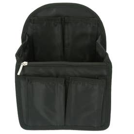 ノーブランド No Brand rib01 リュックインバッグ (ブラック)
