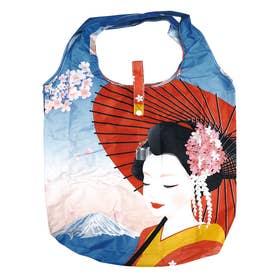エコ な ショッピングバッグ (富士山と舞妓)