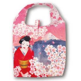 エコ な ショッピングバッグ (舞妓×桜)
