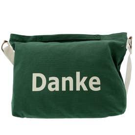 ノーブランド No Brand Danke 帆布ショルダーバッグ (NGR.ニューグリーン)