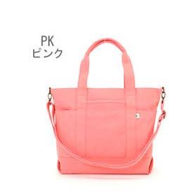 カラーキャンバス 2WAYトート(Lサイズ) (PK.ピンク)