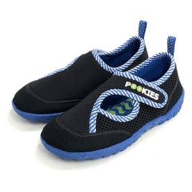 ノーブランド No Brand Pookies プーキーズ pka120 water shoes kids (Blue-ST)