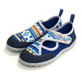ノーブランド No Brand Pookies プーキーズ pka120 water shoes kids (Blue-NT)