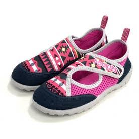 ノーブランド No Brand Pookies プーキーズ pka120 water shoes kids (Pink-NT)