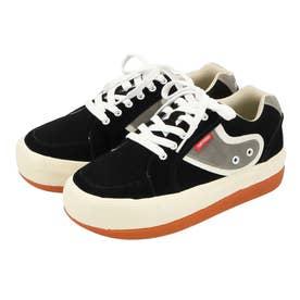 GODDESS Boarder Sneakers 厚底スニーカー (ブラック)