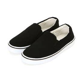 コットンスリッポン (BK.ブラック(靴底:白))