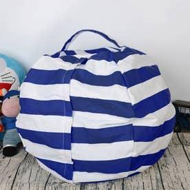 ノーブランド No Brand omt01 おもちゃ収納袋 (ブルー)