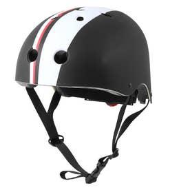 ノーブランド No Brand オリンパス ORINPAS OMTV-12 キッズヘルメット(SG規格) Coco S/M (160233.BKストライプM)
