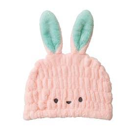 ノーブランド No Brand 吸水アニマルキッズ キャップ (ウサギ)