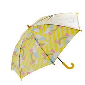 ATTAIN アテイン 女児 1コマPOE グラスファイバー骨 安全手開き 長傘 45cm (1331.yellow)