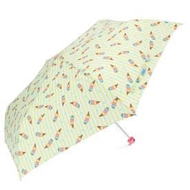 アテイン ATTAIN 女児軽量ミニポンジー 折りたたみ傘55cm (5204アイスクリームライム)