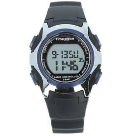ノーブランド No Brand time piece 電波時計 TPW-001 TPW-002 (TPW-001.BL)
