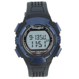 time piece 電波時計 TPW-001 TPW-002 (TPW-002.BL)