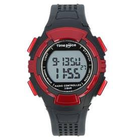 ノーブランド No Brand time piece 電波時計 TPW-001 TPW-002 (TPW-002.RD)
