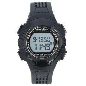 time piece 電波時計 TPW-001 TPW-002 (TPW-002.BK)