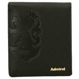 Admiral アドミラル ADWF04 2つ折り財布 (ブラック)