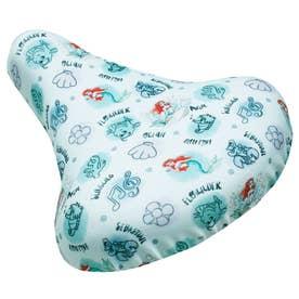 ノーブランド No Brand チャリCAP chari CAP フリーサイズ フルカラータイプ 撥水加工 キャラクターシリーズ (wd072.アリエル総柄)