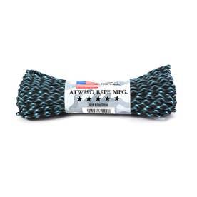 アトウッド・ロープ MFG ATWOOD ROPE MFG. パラコード 100フィート CAMO/PATTERN (15.Lightning)