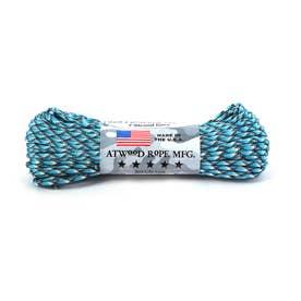 アトウッド・ロープ MFG ATWOOD ROPE MFG. パラコード 100フィート CAMO/PATTERN (11.BlueSnake)