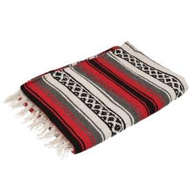 ノーブランド No Brand EL PASO エルパソ ONW Traditional Falsa Blankets (レッド)