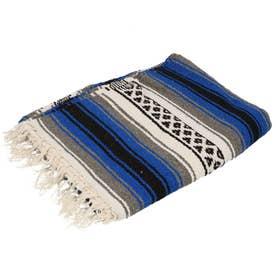 ノーブランド No Brand EL PASO エルパソ ONW Traditional Falsa Blankets (ロイヤルブルー)