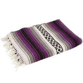 ノーブランド No Brand EL PASO エルパソ ONW Traditional Falsa Blankets (ダークチェリー)