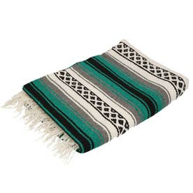 EL PASO エルパソ ONW Traditional Falsa Blankets (ティール)