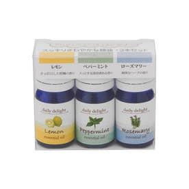 ノーブランド No Brand Daily delight エッセンシャルオイル 精油3本セット (スッキリさわやか)