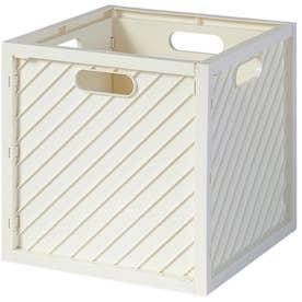 ノーブランド No Brand HACOBO Lite ストレージボックス (ホワイト)