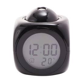 ノーブランド No Brand favorist フェイバリスト トーキングクロック しゃべる時計 光る時計 (048142.ブラック)