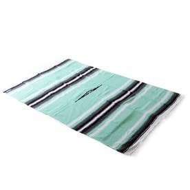 ノーブランド No Brand west path ウェストパス Diamond Blanket 73x48 (12.MintGrey)