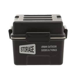 ノーブランド No Brand STORAGE スクエアコンテナランチ 550ml (ブラック)