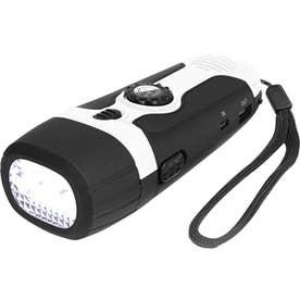 ノーブランド No Brand Montagna ダイナモ充電式 多機能ライト (ブラック)