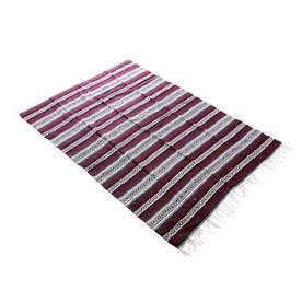 Heavy Weight Falza Blanket (4.Burgundy)