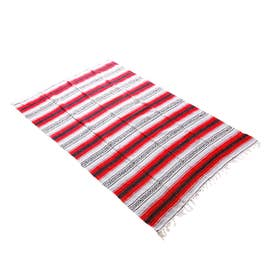 ノーブランド No Brand Heavy Weight Falza Blanket (15.Red)